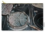Heart Waffle Iron Carry-all Pouch