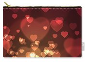 Hearts Background Carry-all Pouch