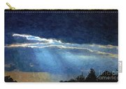 Heaven Opening To Let Out The Sun Painterly Style Carry-all Pouch