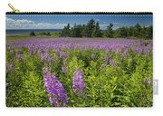 Hedge Woundwort Flower Blossoms And Field Carry-all Pouch