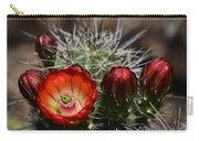 Hedgehog Cactus Flowers  Carry-all Pouch