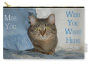 Heidi Cat Miss You Carry-all Pouch