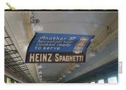 Heinz Spaghetti Train Ad Signage Digital Art Carry-all Pouch