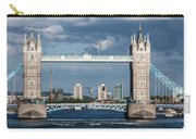 Helicopters And Tower Bridge Carry-all Pouch