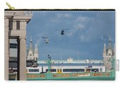 Helicopters Tower Bridge Carry-all Pouch