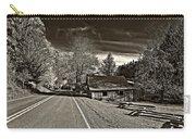 Helvetia Wv Monochrome Carry-all Pouch by Steve Harrington