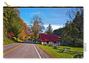 Helvetia Wv Painted Carry-all Pouch