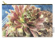Hen And Chicks Plant Carry-all Pouch