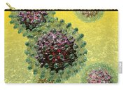 Hepatitis B Virus Particles Carry-all Pouch by Russell Kightley