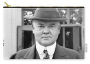 Herbert Hoover - President Of The United States Of America - C 1924 Carry-all Pouch