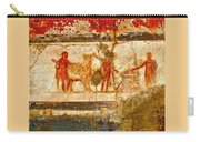 Herculaneum Wall Painting Carry-all Pouch