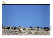 Herd In The Atlas Mountains 02 Carry-all Pouch