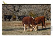 Hereford Cattle Carry-all Pouch