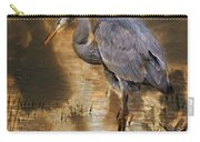 Heron Bronze Carry-all Pouch