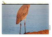 Heron On Palm Carry-all Pouch