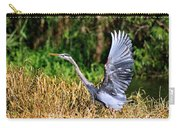 Heron Taking To Flight Carry-all Pouch