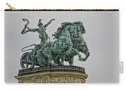 Heros Square Statue Carry-all Pouch