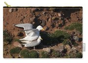 Herring Gulls Mating Carry-all Pouch