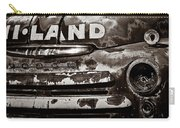 Hi-land  -bw Carry-all Pouch by Christopher Holmes