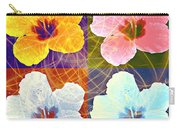 Hibiscus Blooming Carry-all Pouch
