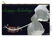 Hibiscus Holiday Card Carry-all Pouch