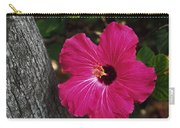 Hibiscus Potrait Carry-all Pouch