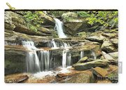 Hidden Falls At Hanging Rock Carry-all Pouch