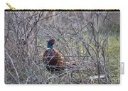 Hiding Pheasant Carry-all Pouch