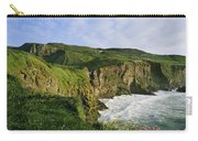 High Angle View Of A Coast, County Carry-all Pouch