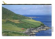 High Angle View Of A Coastline, Beara Carry-all Pouch