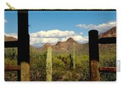 High Chaparral Old Tuscon Arizona  Carry-all Pouch
