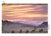 High Park Fire Larimer County Colorado At Sunset Carry-all Pouch
