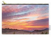 High Park Wildfire Sunset Sky Carry-all Pouch