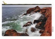 High Tide At Bass Harbor Head Carry-all Pouch