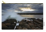High Tide At Otter Point Carry-all Pouch