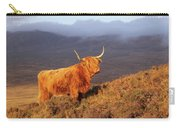 Highland Cattle Landscape Carry-all Pouch