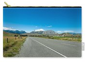 Highway Towards Panoramic Mountain Carry-all Pouch