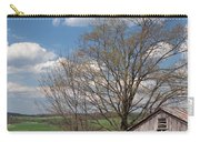 Hillside Weathered Barn Dramatic Spring Sky Carry-all Pouch