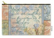 Hint Of Spring Butterfly 1 Carry-all Pouch by Debbie DeWitt