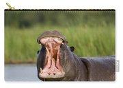 Hippopotamus Hippopotamus Amphibius Carry-all Pouch