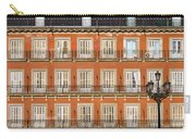 Historic Facade At Plaza Mayor In Madrid Carry-all Pouch