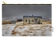 Historic Farm After Snowfall Otago New Carry-all Pouch by Colin Monteath