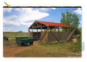Historic Fruita District Barn Carry-all Pouch