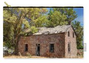 Historic Ruined Brick Building In Rural Farming Community - Utah Carry-all Pouch