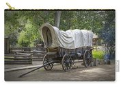 Historical Frontier Covered Wagon Carry-all Pouch