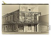 History Lesson Sepia Carry-all Pouch