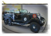 Hitler's 39 Mercedes-benz Carry-all Pouch