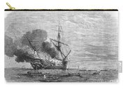 Hms Bombay Burning, 1865 Carry-all Pouch