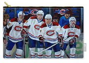 Hockey Art At Bell Center Montreal Carry-all Pouch