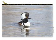 Hodded Merganser Carry-all Pouch